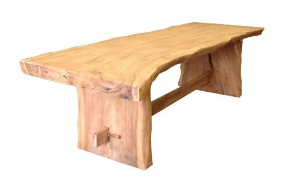 baumstamm tische vorr tig teakm. Black Bedroom Furniture Sets. Home Design Ideas