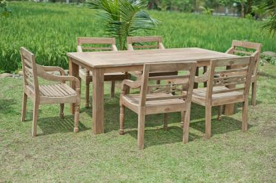 Teak Holz Gartenmöbel Set ~ Teak gartenset recycled bunt teakmöbel.com