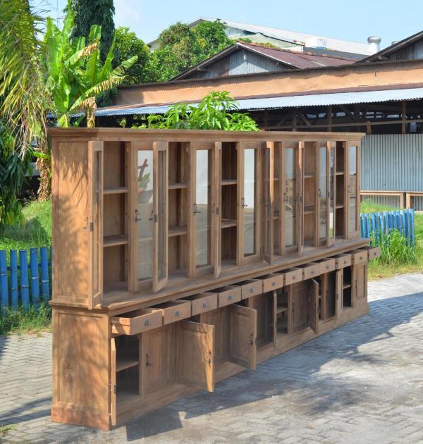 Produktneuheit im Sommer: Mega Teak Schrank aus Recyclingholz ...