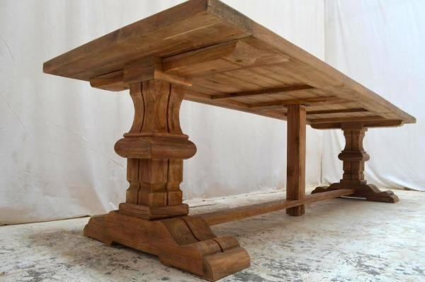 Outdoor-Teak-Klostertische