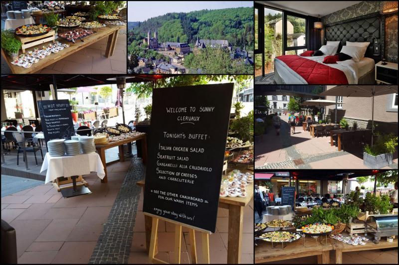 Gastronomie buffet mbel top dianaus restaurant in with for Gebrauchte teakmobel