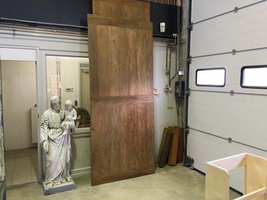 Teak Tisch altes Holz 280 x 120 - Bild 0