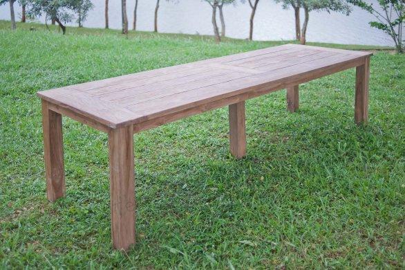 Gartentisch 300cm mit 10 Stapelstühle - Bild 2