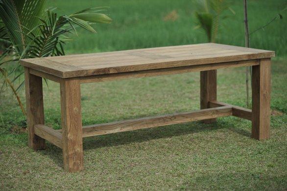 Gartentisch Mammut 200cm mit 2 Beaufort Stühle und Bank - Bild 2