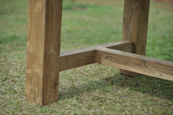 Gartentisch Mammut 200cm mit 2 Beaufort Stühle und Bank - Bild 4