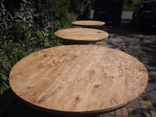 Teak Tisch rund  Ø 170 cm - Bild 4