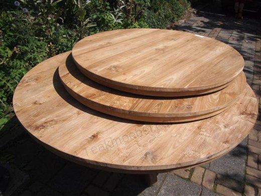 Teak Tisch rund  Ø 170 cm - Bild 5