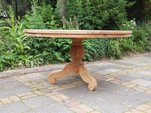 Teak Tisch rund Ø 150 cm - Bild 1