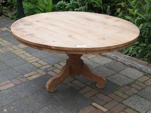 Teak Tisch rund Ø 150 cm - Bild 12