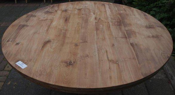 Teak Tisch rund Ø 150 cm - Bild 13