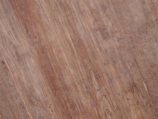 Teak Tisch rund Ø 180 cm altes Holz - Bild 9