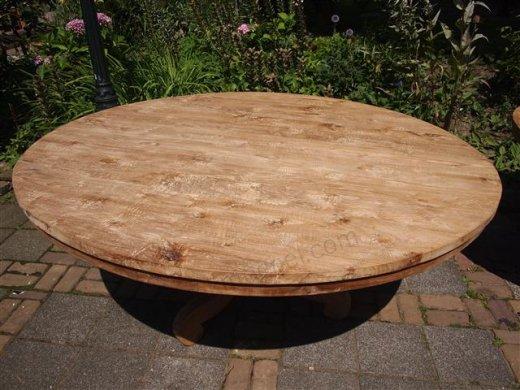 Teak Tisch rund  Ø 170 cm - Bild 3