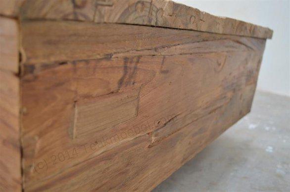Teak Couchtisch BLOK 120cm Dingklik - Bild 8