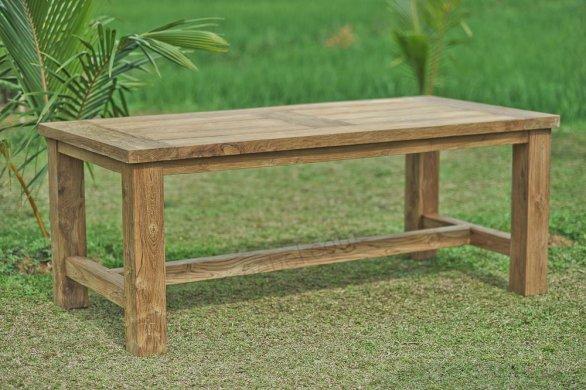 Teak Gartentisch 250cm Mammut - Bild 4