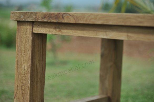 Teak Gartentisch 250cm Mammut - Bild 6