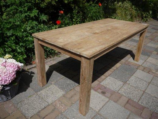 Teak Tisch 200 x 100 cm - Bild 8