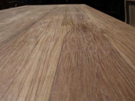 Teak Tisch gebürstet 180 x 90 cm - Bild 6