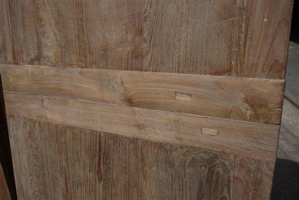 Teak Tisch altes Holz 200 - 250 - 300 x 100 cm ausziehbar - Bild 11