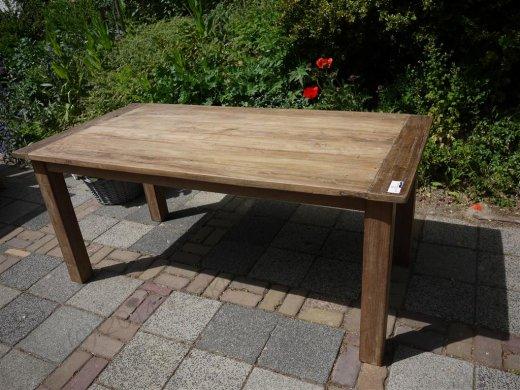 Teak Tisch aus altem Holz 180 x 90 cm - Bild 11