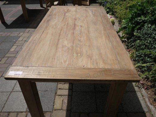 Teak Tisch aus altem Holz 180 x 90 cm - Bild 5