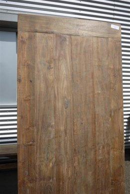 Teak Tisch aus altem Holz 200 x 100 cm - Bild 8
