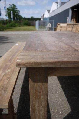 Teak Tisch altes Holz 240 x 100 cm - Bild 12