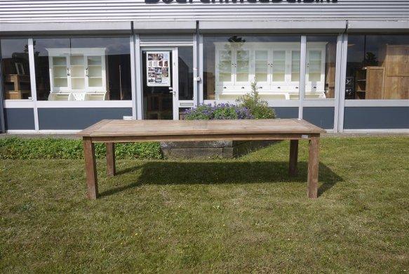 Teak Tisch altes Holz 260 x 100 cm - Bild 12