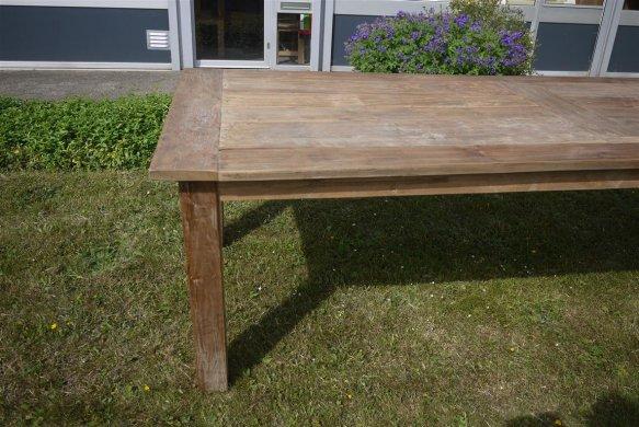 Teak Tisch altes Holz 260 x 100 cm - Bild 11