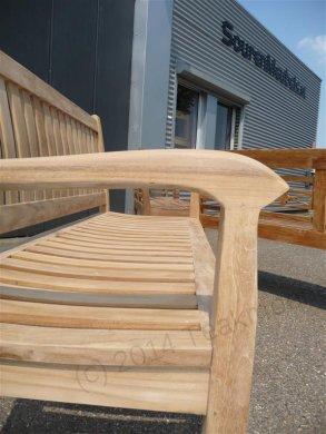 Teak Holz Gartenbank  180 cm Beaufort - Bild 5