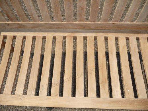Teak Holz Gartenbank  180 cm Beaufort - Bild 6