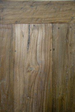 Teak Tisch aus altem Holz 220 x 100 cm - Bild 4