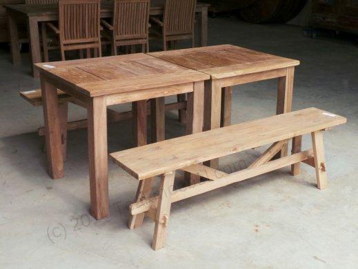 Bistro-Set Sitzgruppe 4tlg - Bild 1