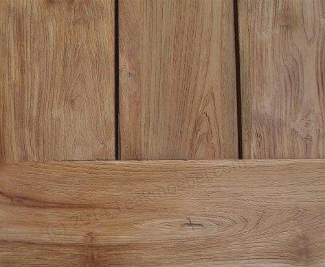 Teak Gartentisch 200x100cm + Teak Gartenbank 160cm - Bild 4