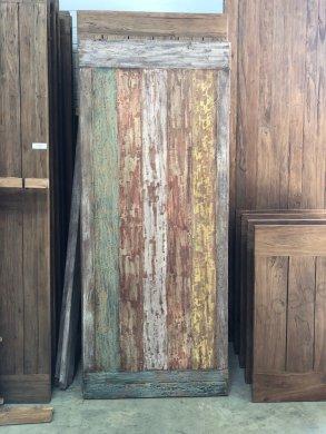 Teak Klostertisch mit Farbresten 240x100cm - Bild 1