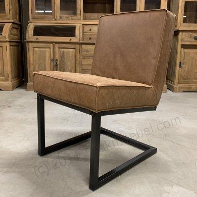Leder Stuhl Camel - Bild 0
