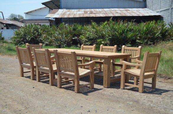 Gartentisch Mammut 300cm mit 8 Mammut Gartenstühle - Bild 0