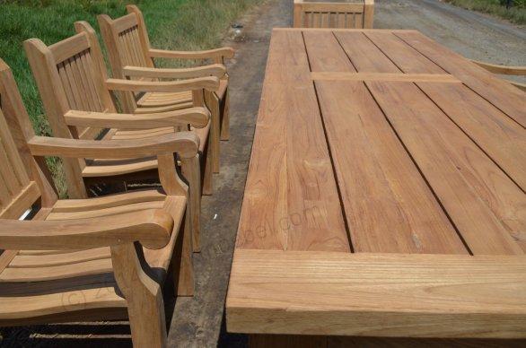 Gartentisch Mammut 300cm mit 8 Mammut Gartenstühle - Bild 3