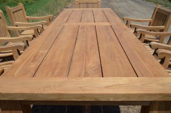 Gartentisch Mammut 300cm mit 8 Mammut Gartenstühle - Bild 4