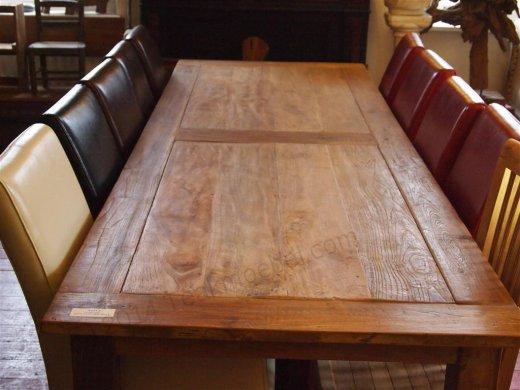 Teak Tisch altes Holz 300 x 100 cm - Bild 3