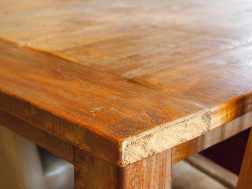 Teak Tisch altes Holz 300 x 100 cm - Bild 6