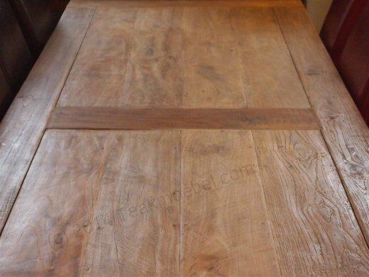 Teak Tisch altes Holz 300 x 100 cm - Bild 4
