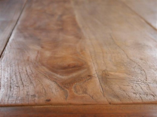Teak Tisch altes Holz 300 x 100 cm - Bild 5