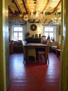 Teak Tisch altes Holz 300 x 100 cm - Bild 2