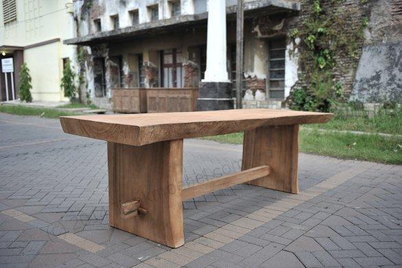 Baumstamm Tisch 250cm - Bild 0