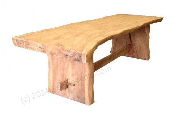 Baumstamm Tisch 250cm - Bild 1