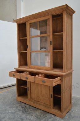 teak buffetschrank 140cm. Black Bedroom Furniture Sets. Home Design Ideas