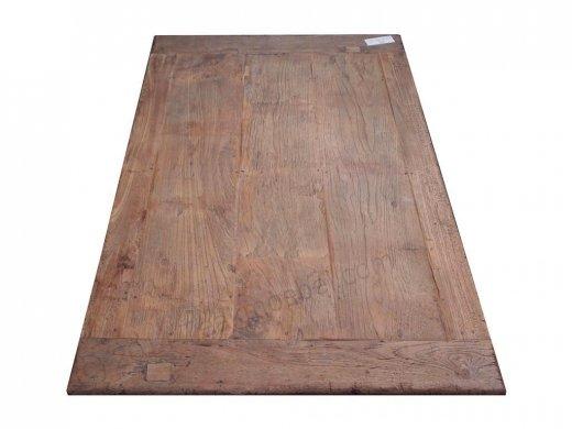 Teak Couchtisch aus altem Holz 120 x 80 cm - Bild 3