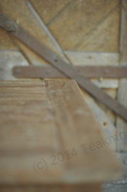 Teak Couchtisch Dingklik 120 x 80 Schubladen - Bild 4