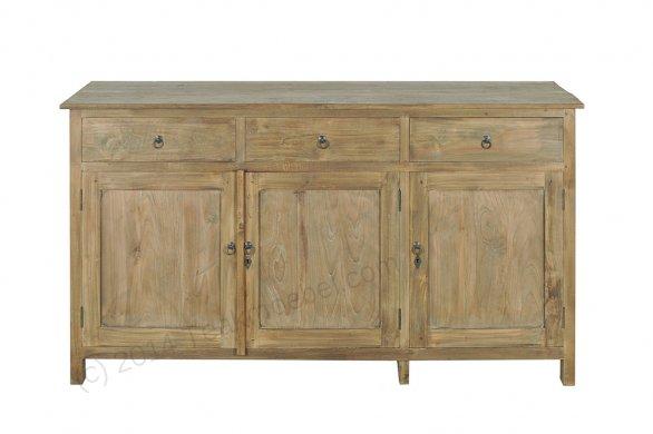 Teak Anrichte altes Holz 160 x 50 x 90 cm - Bild 0