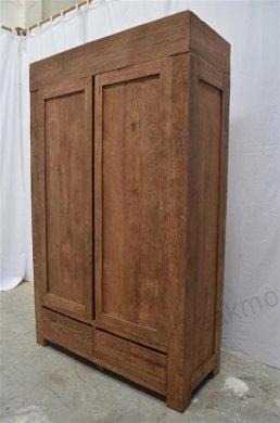 teak kleiderschrank modern dingklik. Black Bedroom Furniture Sets. Home Design Ideas